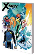 Image: X-Men Blue Vol. 05: Surviving the Experience SC  - Marvel Comics