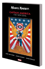 Image: Marvel Knights Captain America by Rieber & Cassaday: The New Deal SC  - Marvel Comics