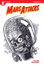 Image: Mars Attacks #1 (variant edition - Haeser Remarked) - Dynamite
