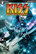 Image: Kiss: Blood Stardust #1 (cover D - Sayger Spaceman) - Dynamite