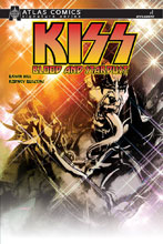 Image: Kiss: Blood Stardust #1 (signed - Bryan Hill) (Atlas edition) - Dynamite