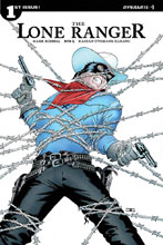 Image: Lone Ranger Vol. 3 #1 (cover A - Cassaday) - Dynamite