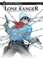 Image: Lone Ranger Vol. 3 #1 (signed - Mark Russell) (Atlas edition) - Dynamite