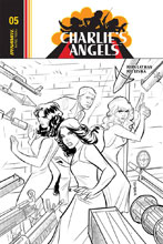 Image: Charlie's Angels #5 (incentive cover - Eisma B&W) (10-copy) - Dynamite