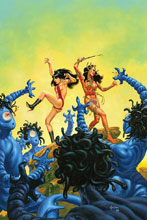Image: Vampirella / Dejah Thoris #2 (incentive cover - Jusko virgin) (10-copy) - Dynamite