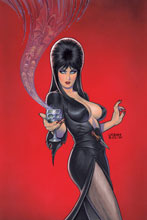 Image: Elvira: Mistress of the Dark #4 (incentive cover - Linsner virgin) (25-copy) - Dynamite