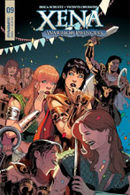 Image: Xena: Warrior Princess Vol. 02 #9 (cover A) - Dynamite