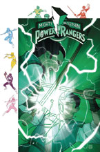 Image: Mighty Morphin Power Rangers #32 (subscription cover - Gibson) - Boom! Studios