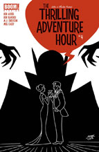 Image: Thrilling Adventure Hour #4 (cover A - Case) - Boom! Studios