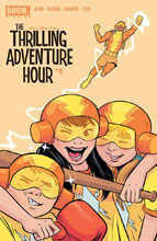 Image: Thrilling Adventure Hour #4 (subscription cover - Bustos) - Boom! Studios
