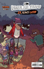 Image: Regular Show: 25 Years Later #5 (subscription cover - Chen) - Boom! Studios