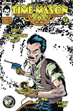 Image: Albert Einstein: Time Mason #1 (cover B - Donley) - Action Lab Entertainment