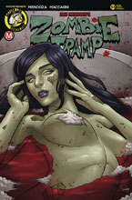 Image: Zombie Tramp #53 (cover C - Delatorre) - Action Lab - Danger Zone