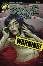 Image: Zombie Tramp #53 (cover D - Delatorre Risque) - Action Lab - Danger Zone