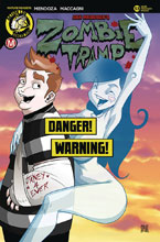 Image: Zombie Tramp #53 (cover F - Mendoza Risque B) - Action Lab - Danger Zone