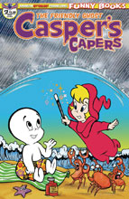 Image: Casper Capers #3 (main cover - Scherer) - American Mythology Productions