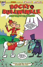Image: Rocky & Bullwinkle Adventures #1 (variant cover - Dudley Do Right) - American Mythology Productions