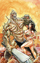 Image: Cavewoman: Rampage #1 (cover A - Massey) - Amryl Entertainment