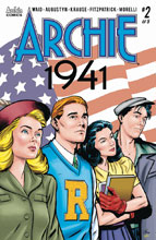 Image: Archie 1941 #2 (cover A - Krause)  [2018] - Archie Comic Publications