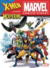 Image: Marvel Comics Digest #9 (X-Men & Wolverine) - Archie Comic Publications