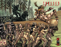 Image: Crossed Plus 100 Mimic #6 (variant cover - History X wraparound) - Avatar Press Inc