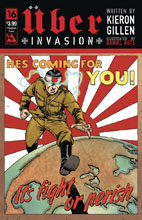 Image: Uber: Invasion #16 (variant cover - Propaganda Poster) - Avatar Press Inc