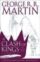 Image: Clash of Kings: The Graphic Novel Vol. 01 HC  - Bantam / Spectra