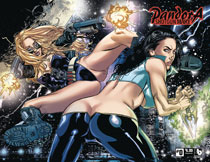 Image: Pandora Shotgun Mary #0 (variant cover - wraparound) - Boundless Comics
