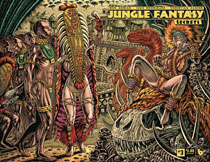 Image: Jungle Fantasy: Secrets #3 (variant cover - wraparound) - Boundless Comics