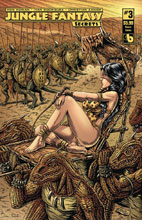 Image: Jungle Fantasy: Secrets #3 (variant cover - Queen Sasha) - Boundless Comics