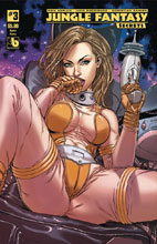 Image: Jungle Fantasy: Secrets #3 (variant cover - Space Fauna) - Boundless Comics