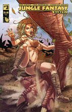 Image: Jungle Fantasy: Secrets #3 (variant cover - Ivory) - Boundless Comics