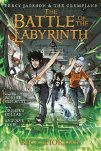 Image: Percy Jackson & Olympians Vol. 04: Battle of Labyrinth SC  - Disney - Hyperion