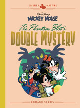 Image: Disney Masters Vol. 05: Mickey Mouse in The Phantom Blot's Double Mystery by Romano Scarpa HC  - Fantagraphics Books