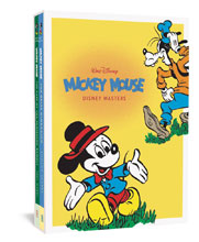 Image: Disney Masters Gift Box Set Vol. 1 & 3: Mickey Mouse HC  - Fantagraphics Books