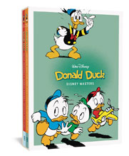 Image: Disney Masters Gift Box Set Vol. 2 & 4: Donald Duck HC  - Fantagraphics Books