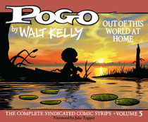 Image: Pogo Vol. 05: Out World this World at Home - 1957-1958 HC  - Fantagraphics Books