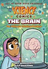 Image: Science Comics: The Brain GN HC  - First Second (:01)