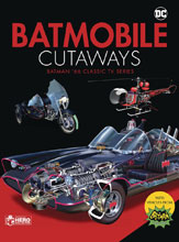 Image: Batmobile Cutaways: Classic Batman '66 TV Series  (w/Collectible) - Hero Collector