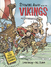 Image: Stowing Away With Vikings Young Adult GN HC  - Kids Can Press