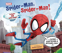 Image: Spider-Man, Spider-Man  (w/CD with Song) - Marvel Press