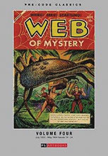 Image: Pre Code Classics Web of Mystery Vol. 04 HC  - PS Artbooks