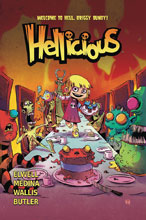 Image: Hellicious Vol. 01: Welcome to Hell, Briggy Bundy SC  - Starburns Industries Press