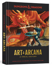 Image: Dungeons & Dragons: Art and Arcana Visual History HC  - Ten Speed Press