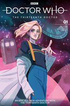 Image: Doctor Who 13th #1 (cover A - Tarr) - Titan Comics