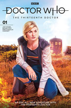 Image: Doctor Who: The Thirteenth Doctor #1 (cover B - Photo) - Titan Comics