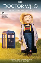 Image: Doctor Who 13th #1 (cover J - Doctor Puppet) - Titan Comics