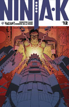 Image: Ninja-K #12 (cover A - Kano) - Valiant Entertainment LLC