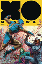 Image: X-O Manowar [2017] #20 (cover D incentive - Interlocking Guedes) (20-copy) - Valiant Entertainment LLC