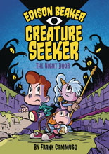 Image: Edison Beaker Creature Seeker Vol. 01: Night Door HC GN  (Young Reader) - Viking Books For YR